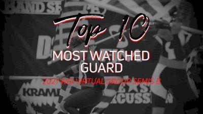 TOP 10: Most Watched Guard WGI Virtual Group Semis B