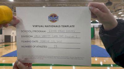 Edina High School [Virtual Large Varsity - Game Day Semi Finals] 2021 UCA National High School Cheerleading Championship