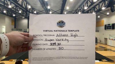 Athens High School [Virtual Super Varsity Semi Finals] 2021 UCA National High School Cheerleading Championship