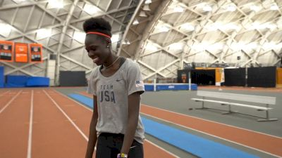 Athing Mu Is Built To Achieve The 400-800 Olympic Double
