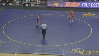 133 lbs - Kyle Biscoglia UNI vs Reece Witcraft Oklahoma State