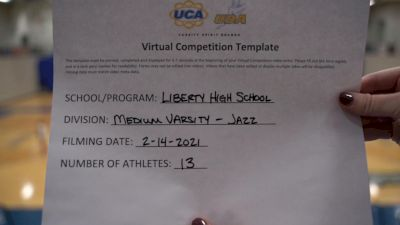 Liberty High School (Liberty) [Medium Varsity - Jazz] 2021 UDA Spirit of the Midwest Virtual Challenge