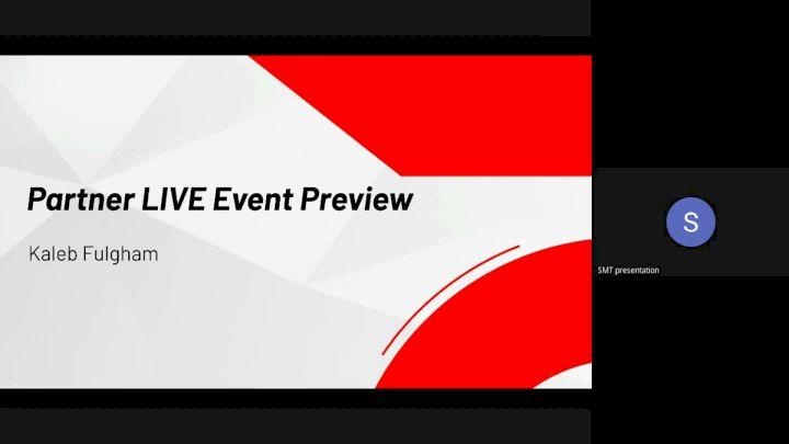 Kaleb - Partner LIVE Event Preview