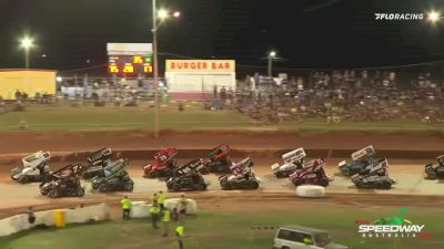 Highlights | Super Seven Sprint Cars at Archerfield Speedway