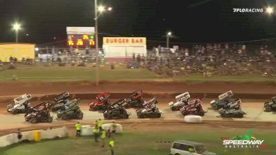 Highlights | Super Seven Sprint Cars at Archerfield Speedway