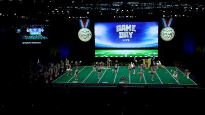Spring Station Middle School [2021 Junior Game Day Live Finals] 2021 UCA National High School Cheerleading Championship