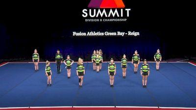 Fusion Athletics Green Bay - Reign [2021 L3 Junior - Small Semis] 2021 The D2 Summit