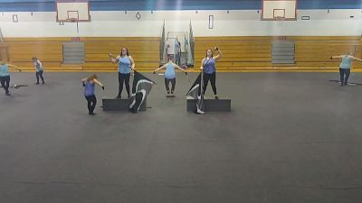 Hempfield Area Scholastic A Colorguard - Young & Beautiful