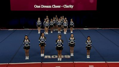 One Dream Cheer - Clarity [2021 L3 Performance Rec - 18Y (NON) - Large Finals] 2021 The Quest