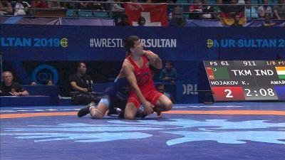 79kg round 1 Kyle DAKE (USA) v. O. NASIROV (KGZ)