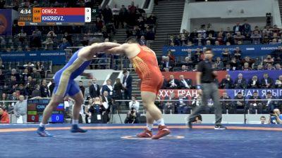 Zelimkhan Khizriev (RUS) vs Zhiwei Deng (CHN)