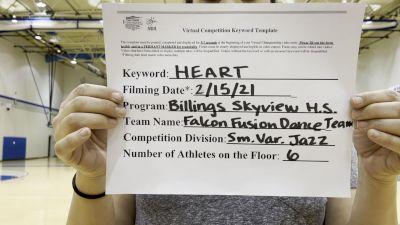 Billings Skyview [Small Varsity - Jazz] 2021 NCA & NDA Virtual February Championship