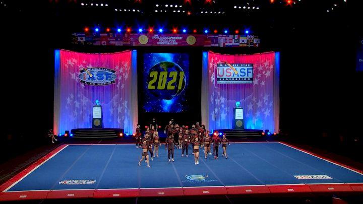 Steele Athletics - Slate [2021 L7 International Open Large Coed Semis] 2021 The Cheerleading Worlds