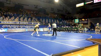 133 lbs Kellyn March, NDSU vs Jared Van Vleet, Air Force