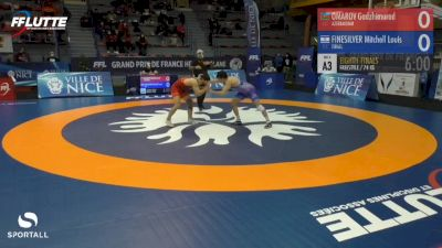 74 kg - Mitch Finesilver, Israel vs Gadzhimurad Omarov, Azerbaijan