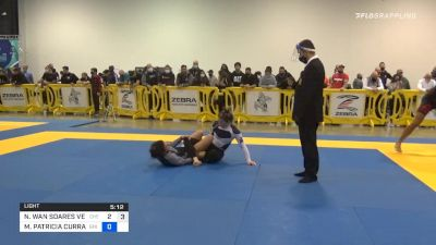Nathalie Ribeiro Ends The 50-50 Fight With A Smooth Kneebar