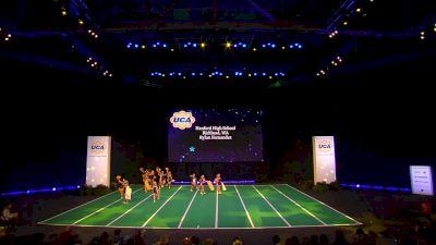 Hanford High School [2020 Junior Varsity Non Tumbling Game Day Semis] 2020 UCA National High School Cheerleading Championship