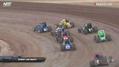 Sprint Car Heats | IMW at Lincoln Park Speedway Night 2