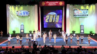The Stingray Allstars - Marietta - Cobalt [2019 L5 Senior Medium Coed Finals] 2019 The Cheerleading Worlds