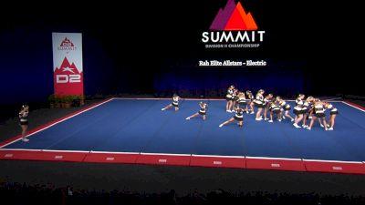 Rah Elite Allstars - Electric [2021 L4 Junior - Small Wild Card] 2021 The D2 Summit