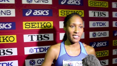 Ajee Wilson Pumped That U.S. Got Three In 800m Final