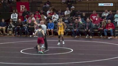 149lbs - Chris Eddins (Pitt-Johnstown) vs Nick Santos (Rutgers)