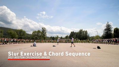2021 Boston Crusaders Brass - Slur Exercise, Chord Sequence