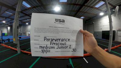 Cheerforce San Diego - Ferocious [L2 Junior - Medium] 2021 USA All Star Virtual Championships
