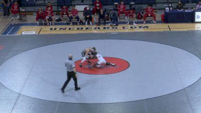 125- Killian Cardinale (West Virginia) vs Anthony Molton (Fresno State)