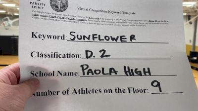 Paola High School [Division II Dance] 2020 KSHSAA Game Day Spirit Virtual Showcase