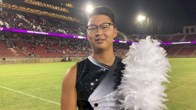 Blue Devils Drum Major Everett Kim After DCI West