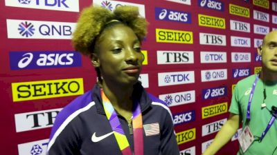 Nia Ali Knew She Was Ready For Gold