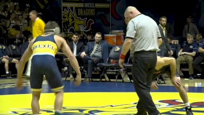 157- Wyatt Sheets (Oklahoma State) vs Parker Kropman (Drexel)