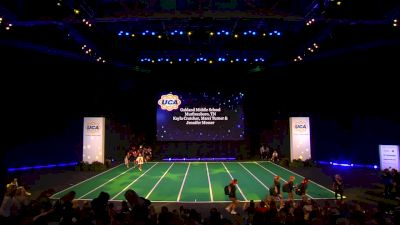 Oakland Middle School [2020 Junior High Non Tumbling Game Day Finals] 2020 UCA National High School Cheerleading Championship