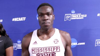 Marco Arop Adds Another Runner-Up Finish To His Resume