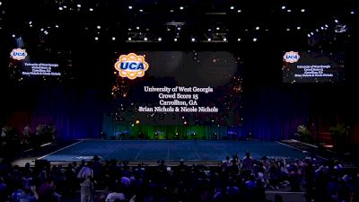 University of West Georgia [2019 All Girl Division I Champion Encore] UCA & UDA College Cheerleading and Dance Team National Championship