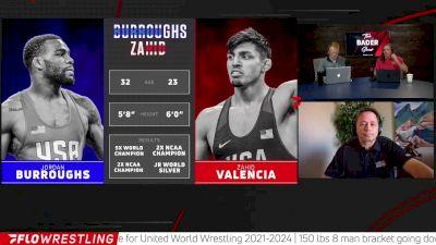 Zeke Jones Breaks Down Burroughs vs Zahid