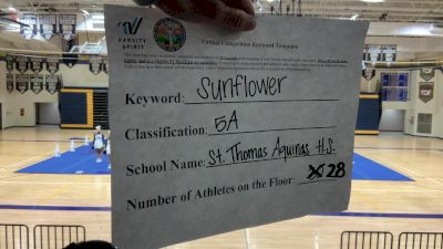 St. Thomas Aquinas High School [5A Game Day] 2020 KSHSAA Game Day Spirit Virtual Showcase