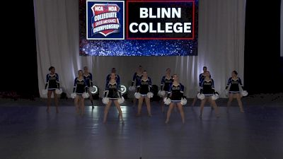 Blinn College [2021 Pom Open Finals] 2021 NCA & NDA Collegiate Cheer & Dance Championship