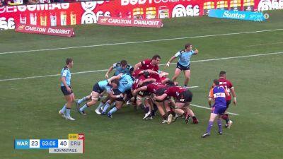 Bryn Hall with a Try vs NSW Waratahs