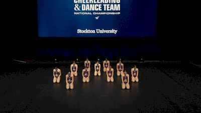 Stockton University [2021 Open Jazz Finals] 2021 UCA & UDA College Cheerleading & Dance Team National Championship