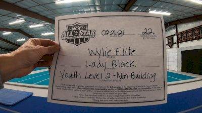 Wylie Elite - Lady Black [L2 Youth - Non-Building] 2021 NCA All-Star Virtual National Championship