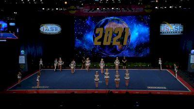 Core Athletix - Black Diamonds [2021 L6 Senior Open Large Coed Finals] 2021 The Cheerleading Worlds