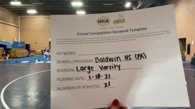 Baldwin High School [Large Varsity] 2021 UCA January Virtual Challenge