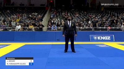JOSEPH MCKAY vs RENATO FORASIEPPI ALVES CANUTO 2021 World IBJJF Jiu-Jitsu No-Gi Championship
