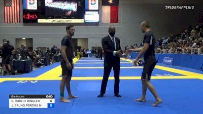 BRADLEY ROBERT RINGLER vs JOSÉ BRUNO PEREIRA MATIAS 2021 World IBJJF Jiu-Jitsu No-Gi Championship