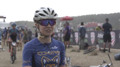Interview With Junior XC Racer Mandy Whitmer Of West Michigan Coyotes At The 2021 USA Cycling Mountain Bike National Championships