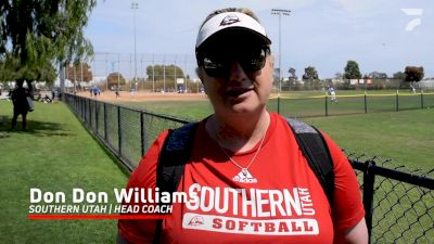 Southern Utah Coach Don Don Williams Interview At 2021 PGF