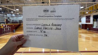 Loyola Academy [Large Varsity - Jazz] 2021 UDA Spirit of the Midwest Virtual Challenge