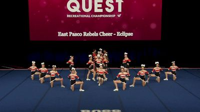 East Pasco Rebels Cheer - Eclipse [2021 L3.1 Performance Rec - 18Y (NON) - Large Finals] 2021 The Quest